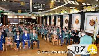 Viele Lobesworte beim Empfang der Helmstedter Schützen