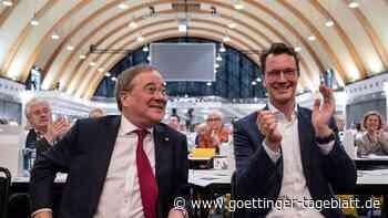 Wüst-Wahl: NRW-CDU zeigt Geschlossenheit - Standing Ovations für Laschet