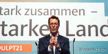 Hendrik Wüst neuer NRW-CDU-Parteichef | In-/Ausland - gossau24.ch