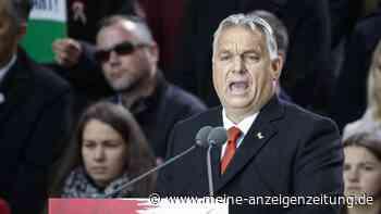 """Orban warnt zum Wahlkampf-Auftakt vor EU - """"stellt euch vor eure Häuser und verteidigt sie"""""""