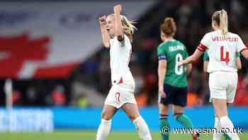 Mead hat trick secures England WC qualifying win