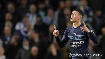 Phil Foden 8/10 as Man City thrash Brighton