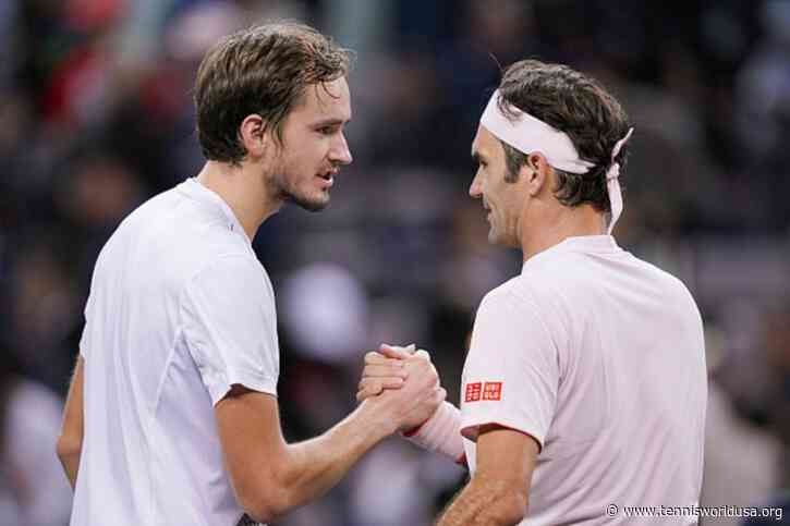 Daniil Medvedev: Lucky to have faced Roger Federer, Rafael Nadal