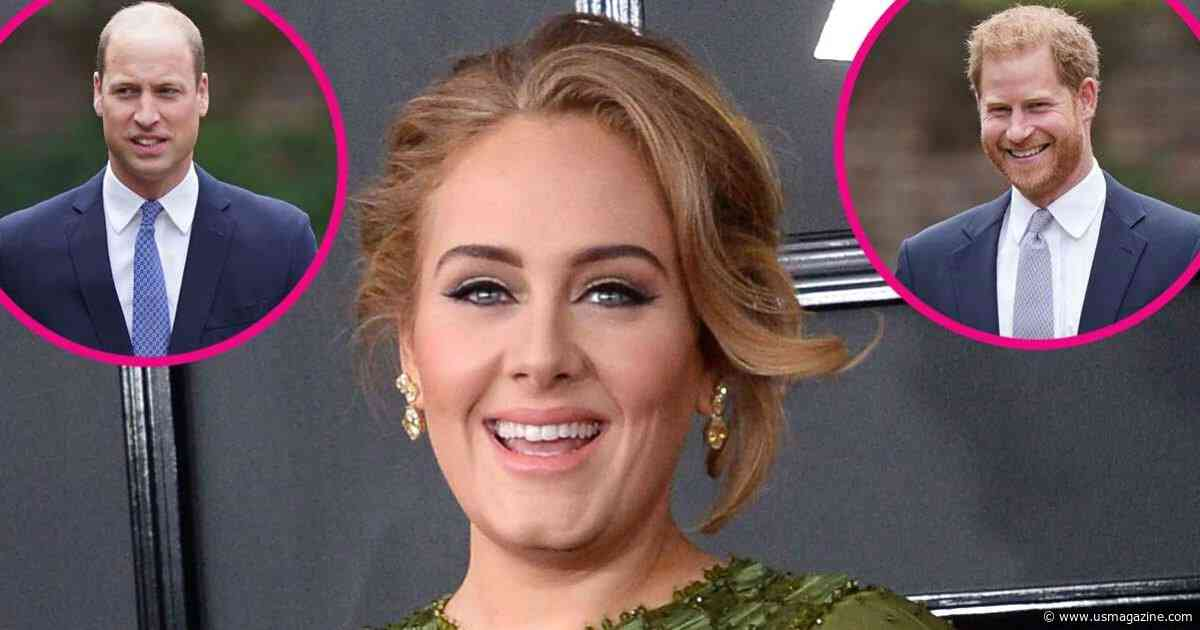 Adele Reveals Whether She Prefers Prince William or Prince Harry, More Takeaways From Vogue's '73 Questions' - Us Weekly