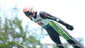 Geiger und Althaus sind deutsche Meister im Skispringen