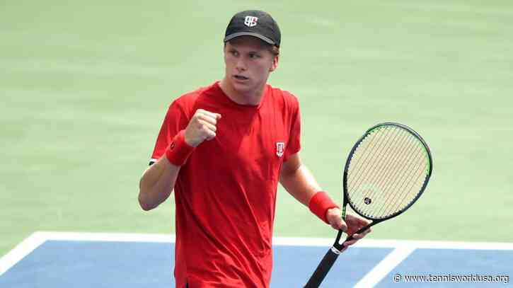 Jenson Brooksby fifth player to qualify for Next Gen ATP Finals