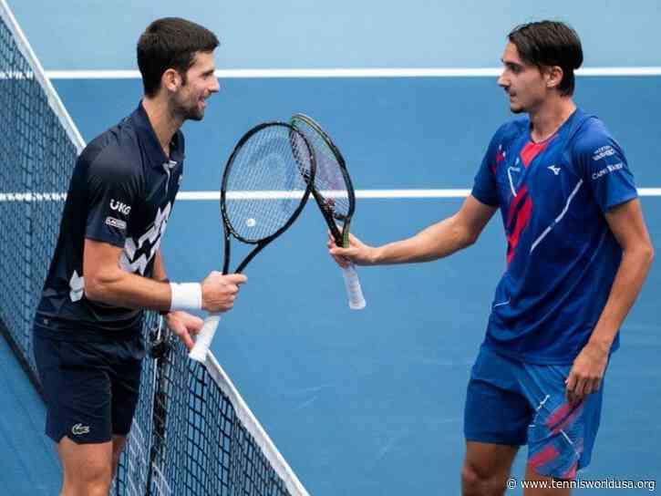 Lorenzo Sonego: Novak Djokovic is strongest in history in terms of trophies won