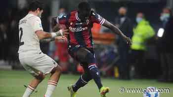 Barrow scores as nine-man Bologna lose to Bennacer's AC Milan