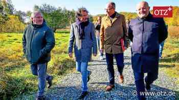 Hochwasserschutzanlagen in Dölau und Rothental offiziell eingeweiht | Greiz | Ostthüringer Zeitung - Ostthüringer Zeitung