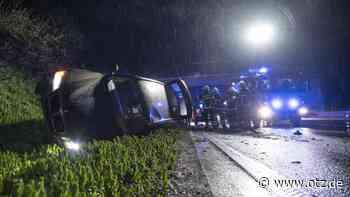 Unfall auf A4: Zu schnell auf nasser Fahrbahn unterwegs - Ostthüringer Zeitung