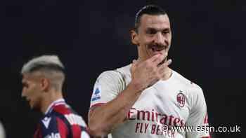 Ibra scores at both ends as Milan beat Bologna