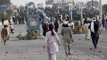Tote und Verletzte bei Unruhen in Pakistan