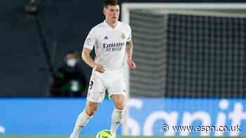 Transfer Talk: Manchester City look to add Real Madrid's Toni Kroos