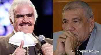 Martín Urieta contó sobre su último encuentro con Vicente Fernández: Lo tomé como una despedida - La República Perú