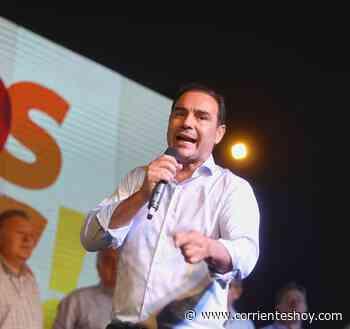 En Santo Tomé, Valdés prometió progreso con obras y Universidad y exigió al Gobierno nacional abrir fronteras - CorrientesHoy.com
