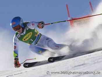 Ski alpin: Ausrufezeichen zum Auftakt: Ski-Star Shiffrin brilliert - Bietigheimer Zeitung