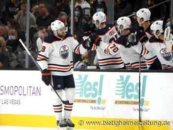Eishockey: NHL: Draisaitl arbeitet mit Edmonton Oilers am Startrekord - Bietigheimer Zeitung