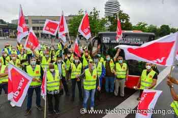 Streik in Bietigheim: Keine Spillmann-Busse am Freitagmittag - Bietigheimer Zeitung