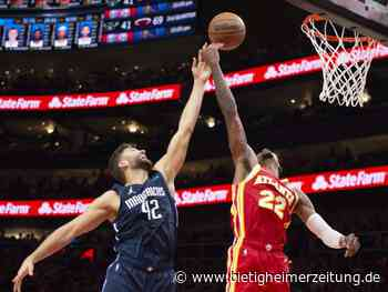 Basketball: Mavericks starten mit herber Pleite in die NBA-Saison - Bietigheimer Zeitung