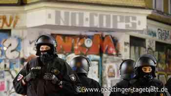 Leipzig: Polizei verhindert Demonstrationen mit Großaufgebot