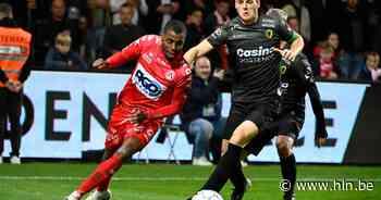 """Brecht Capon (KV Oostende) duidelijk na 1-0-nederlaag op Kortrijk: """"Redden het niet elke week met louter 20 goeie minuten"""" - Het Laatste Nieuws"""
