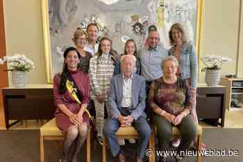 Michel (87) en Godelieve (85) vieren briljanten huwelijk (Oostende) - Het Nieuwsblad