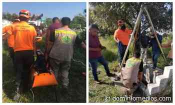 Cae mujer en fosa de panteón en Guadalupe - Dominio Medios
