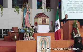Conmemoran los 490 años de las apariciones de la Virgen de Guadalupe - El Occidental