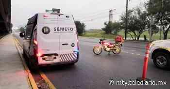 Guadalupe. Muere motociclista tras derrape en avenida Miguel Alemán - Telediario Monterrey