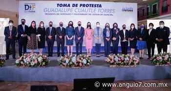 Rinde protesta Guadalupe Cuautle al frente del DIF de San Andrés - Ángulo 7