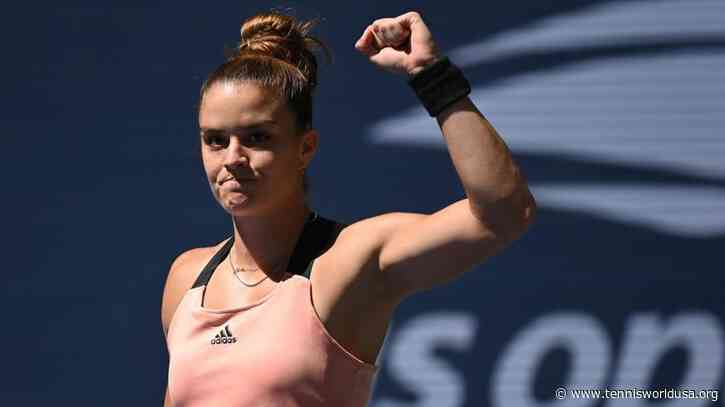 Maria Sakkari: Very proud for becoming first Greek woman to qualify for WTA Finals