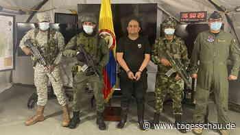 Kolumbiens meistgesuchter Drogenboss gefasst
