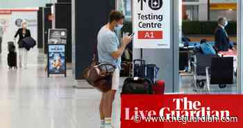 Coronavirus live: UK travel rules relaxed as arrivals can now use cheaper lateral flow tests - The Guardian