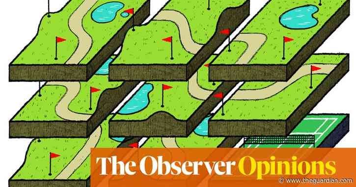 The word 'crazy' is associated with the wrong kind of golf | David Mitchell