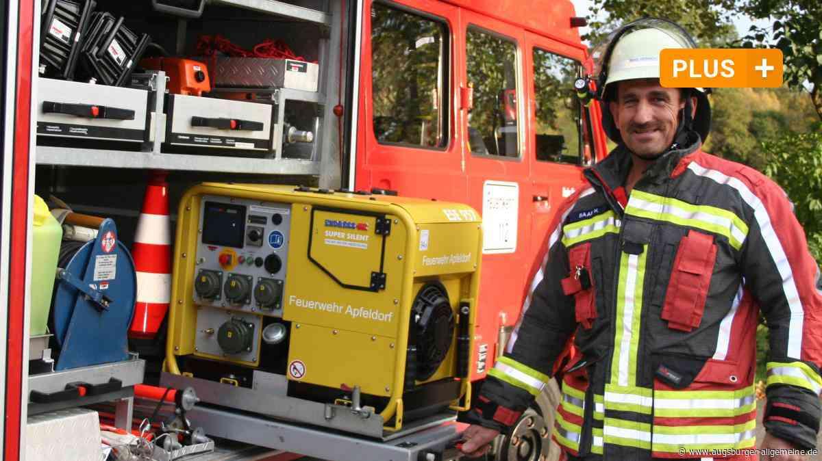 Heinrich Baab hat in über 40 Jahren bei der Feuerwehr einiges erlebt