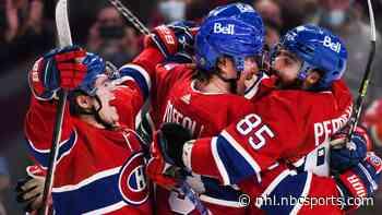 NHL Rink Wrap: Canadiens finally win, Kraken lose home opener - NHL