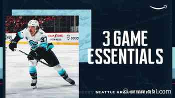 3 Game Essentials   Kraken vs. Vancouver   Oct. 23 - BlueJackets.com