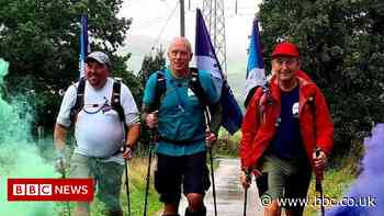 Three Dads Walking: Trio complete 300-mile walk