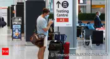 Coronavirus live updates: Cheaper Covid-19 tests in place for vaccinated travellers to England - Times of India