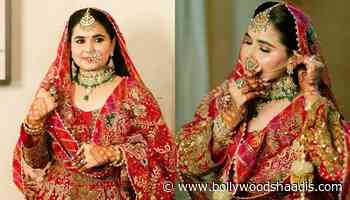 Entrepreneur Bride Wore An 'Anarkali' Suit For Her D-Day, From The Designer Dimple And Harpreet - BollywoodShaadis.com