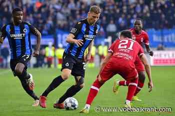 Antwerp en Club Brugge volledig in balans: elk een doelpunt en een rode kaart na wedstrijd met vooral veel strijd