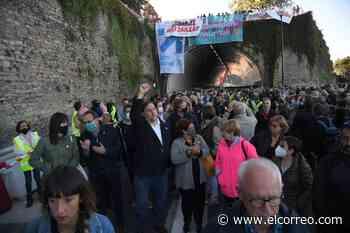 Manifestación en San Sebastián en favor de los presos de ETA - El Correo