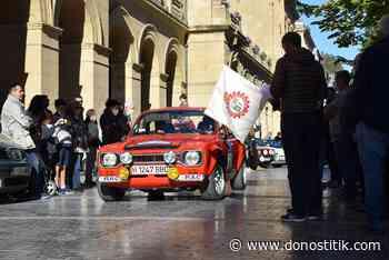 Comienzo inmejorable del Rallye de Clásicos del RACVN en San Sebastián - Donostitik.com