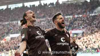 St. Pauli festigt Führung - Spitzenteams im Gleichschritt