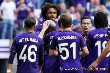 LIVE Anderlecht-Beerschot: Verschaeren blesseert zich