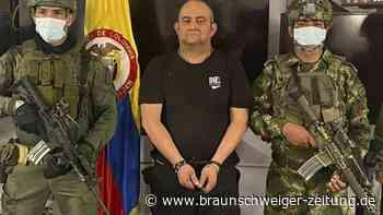 Meistgesuchter Drogenboss Kolumbiens im Dschungel gefasst
