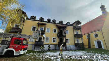 Nach Feuer-Tragödie in Bayern mit vier Toten: Ermittler gehen von Fahrlässigkeit aus - Haftbefehl beantragt