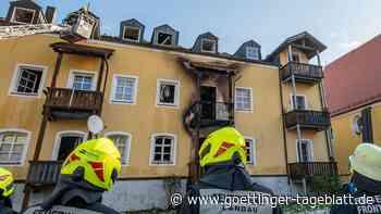 Nach Feuertod von Baby und drei Frauen in Bayern: nicht ausgeschaltete Herdplatte wohl Brandursache