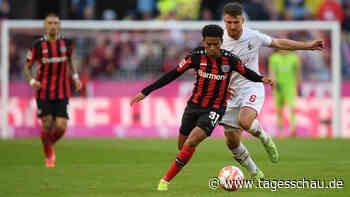 Köln gegen Leverkusen: Packendes Rhein-Derby endet 2:2