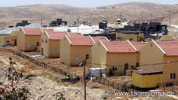 Israel treibt Siedlungsbau im Westjordanland voran